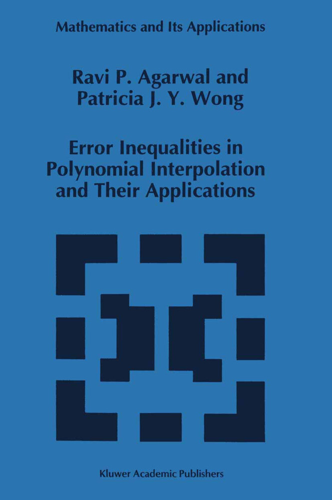 Error Inequalities in Polynomial Interpolation and Their Applications.pdf