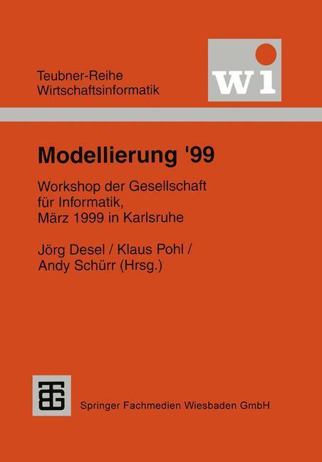 Modellierung '99 als Buch (kartoniert)