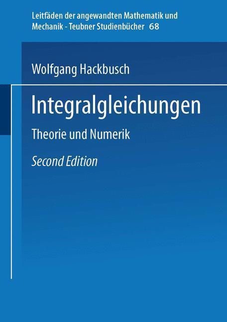 Integralgleichungen als Buch