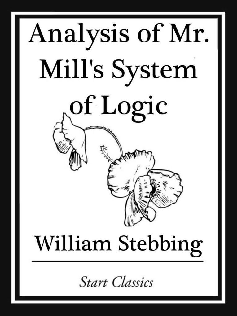Analysis of Mr. Mills System of Logic.pdf