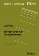 Selected Chapters in the Calculus of Variations