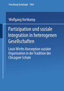 Partizipation und soziale Integration in heterogenen Gesellschaften