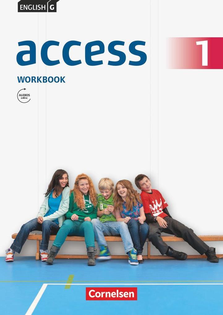 English G Access 01: 5. Schuljahr. Workbook mit mit Audios online und MyBook als Buch (kartoniert)