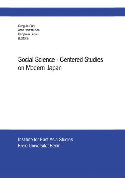 Social Science-Centered Studies on Modern Japan als Buch (gebunden)
