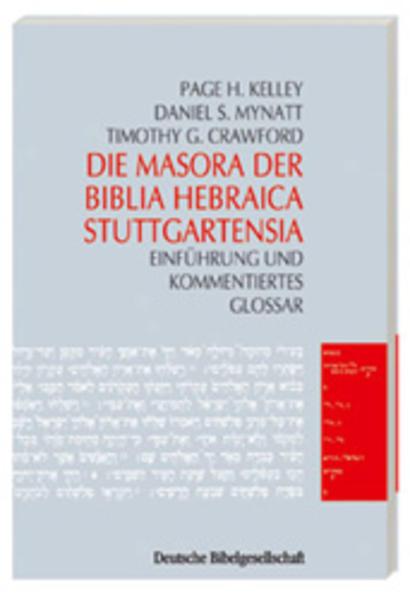 Die Masora der Biblia Hebraica Stuttgartensia als Buch (kartoniert)
