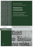 Praktizierte Germanistik