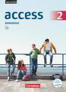 English G Access 6. Schuljahr. Allgemeine Ausgabe. Workbook mit Audios online