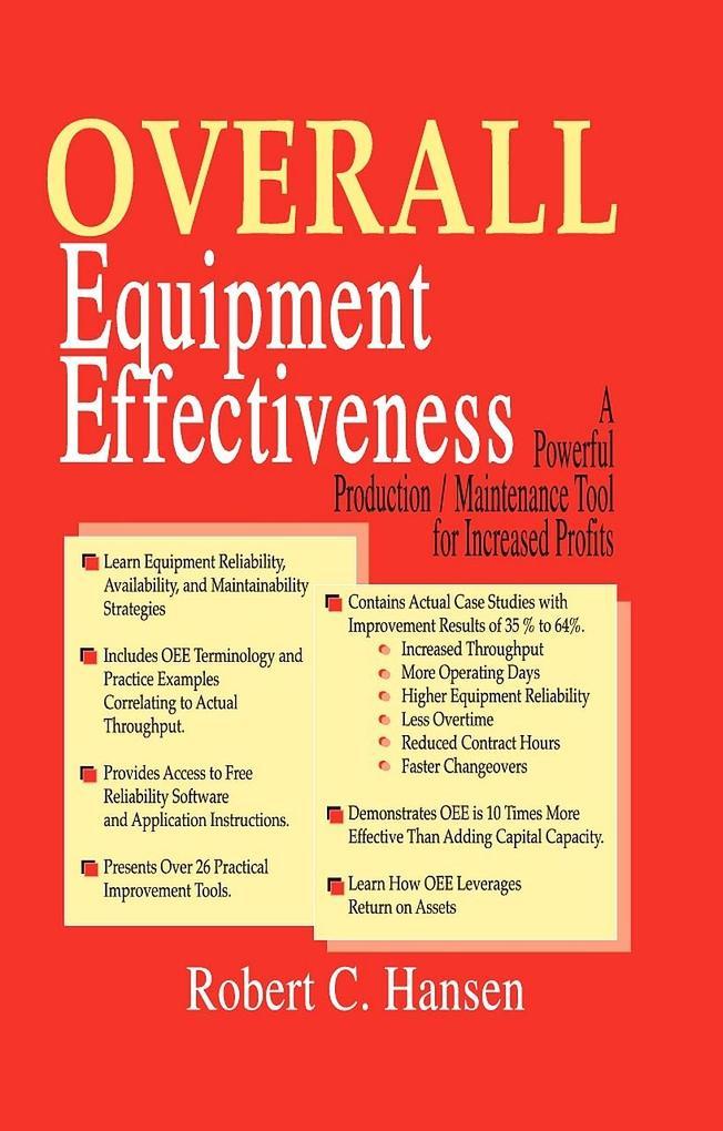 Overall Equipment Effectiveness als eBook epub