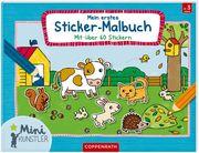 Mein erstes Sticker-Malbuch