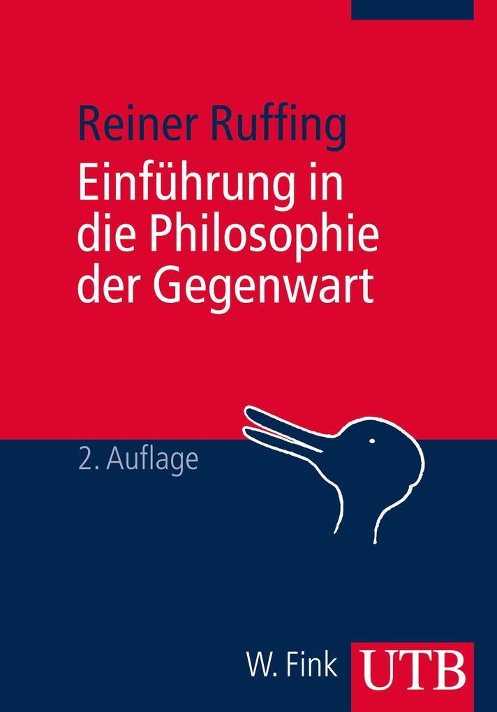 Einführung in die Philosophie der Gegenwart als Buch