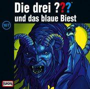 Die drei ??? 167 und das blaue Biest (drei Fragezeichen) CD