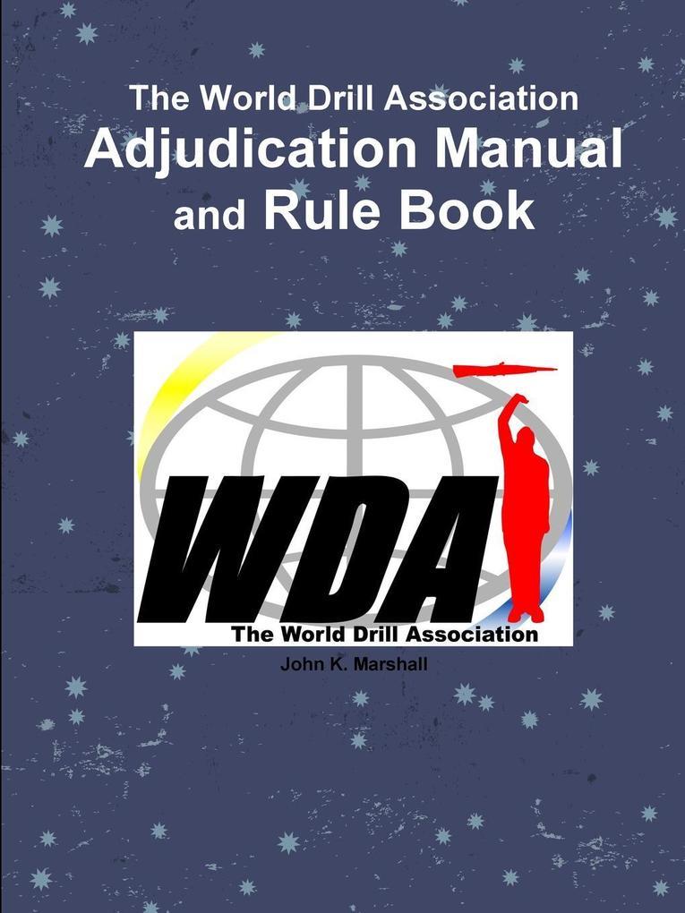 WDA Adjudication Manual als Taschenbuch