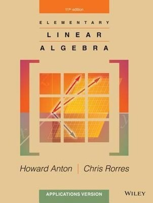 Elementary Linear Algebra: Applications Version als Buch (gebunden)