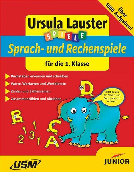 Sprach- und Rechenspiele für die 1. Klasse, 1 CD-ROM als Software