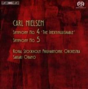 Sinfonien 4 und 5 als CD