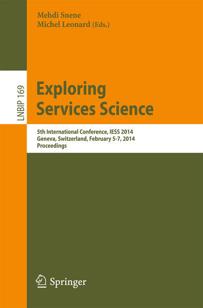 Exploring Services Science als Buch (kartoniert)