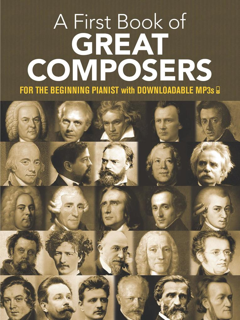 A First Book of Great Composers als eBook epub
