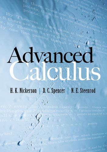 Advanced Calculus als eBook epub