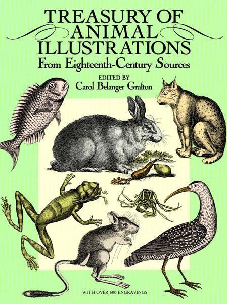 Treasury of Animal Illustrations als eBook epub