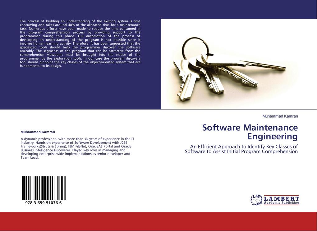 Software Maintenance Engineering als Buch (kartoniert)