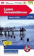 Schweiz Radkarte 11 Luzern - Vierwaldstätter See 1 : 60 000