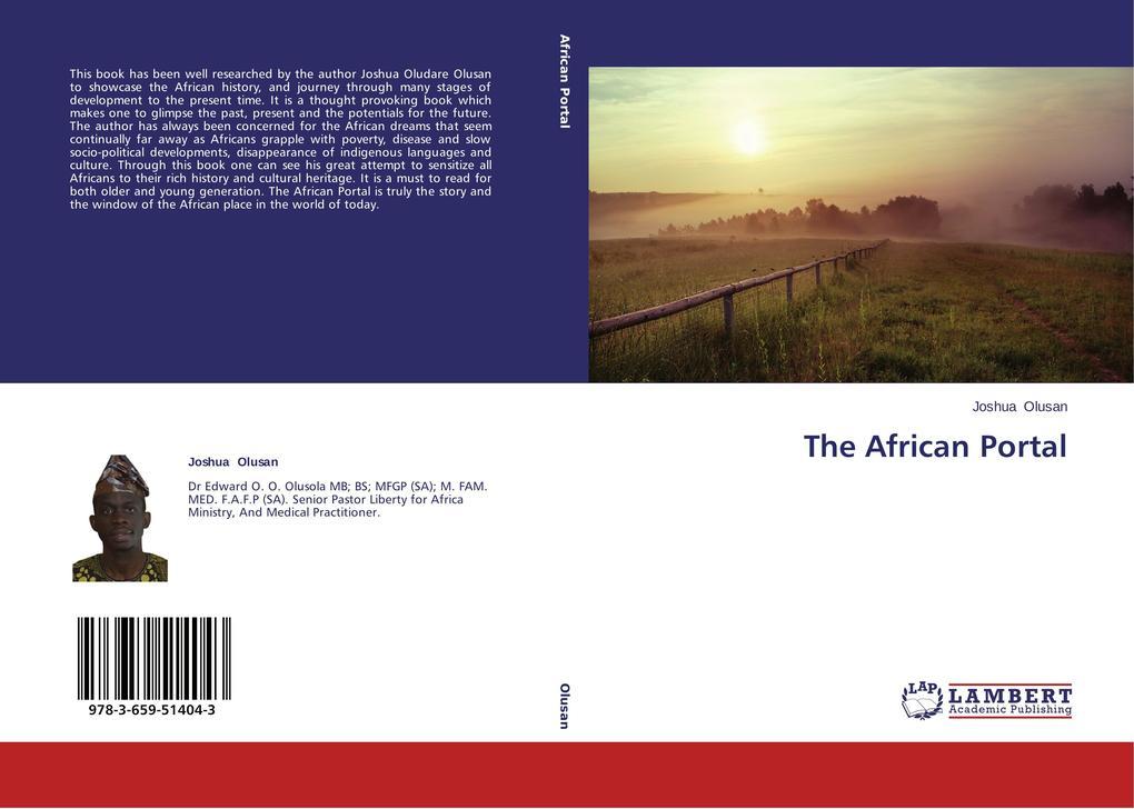 The African Portal als Buch (kartoniert)