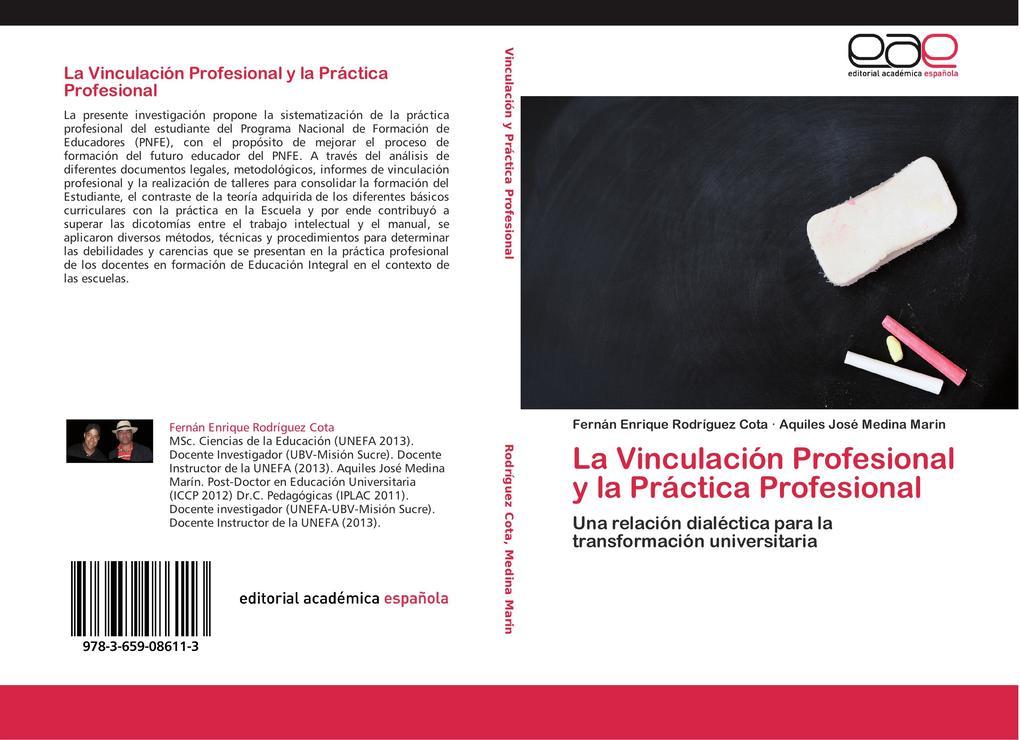 La Vinculación Profesional y la Práctica Profesional als Buch (kartoniert)