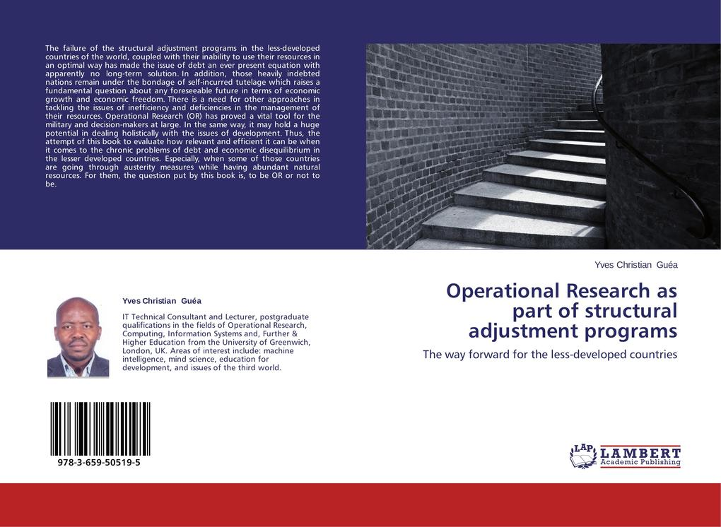 Operational Research as part of structural adjustment programs als Buch (kartoniert)