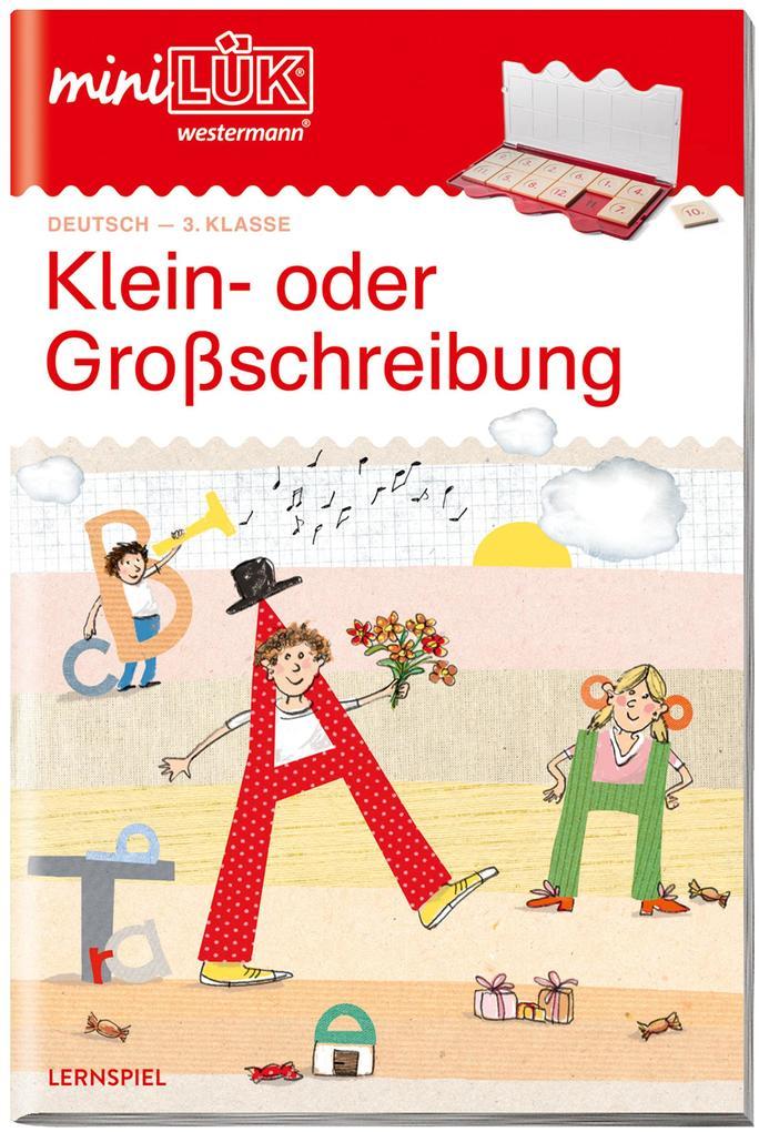 miniLÜK. Klein- oder Großschreibung: Rechtschreibung ab Klasse 3 als Buch (geheftet)
