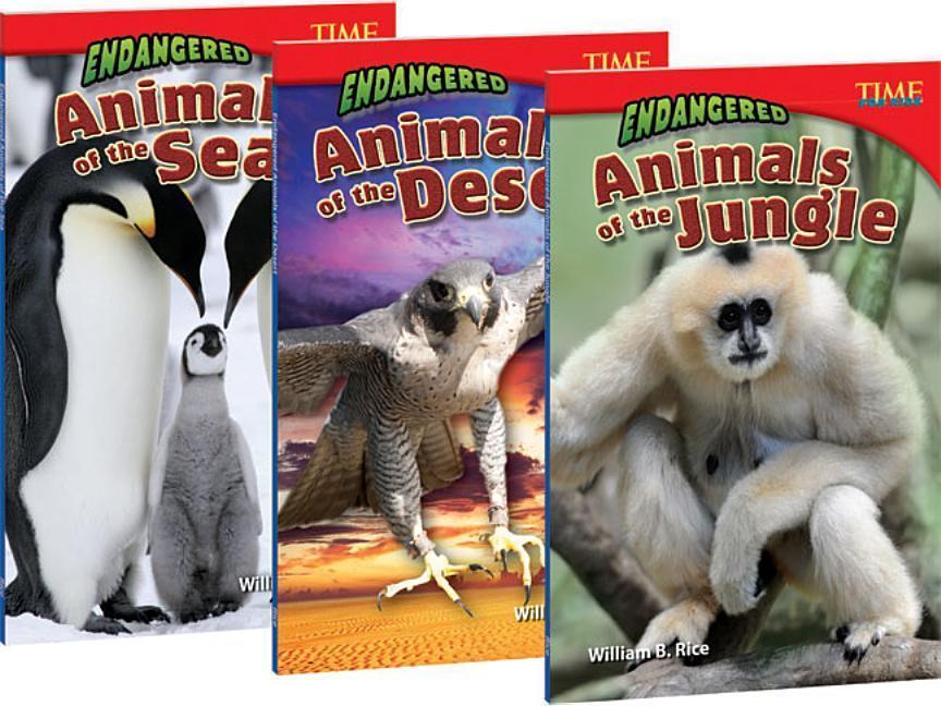 Endangered 3-Book Bundle als Taschenbuch