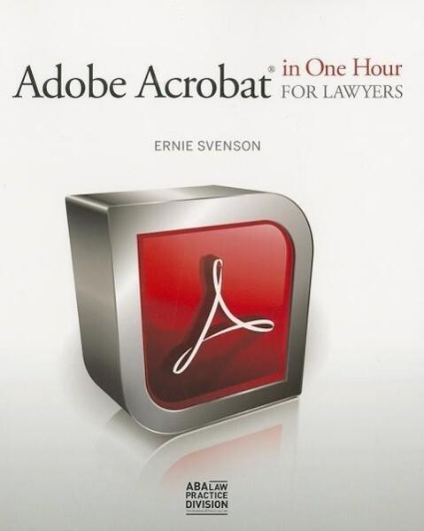 Adobe Acrobat in One Hour for Lawyers als Taschenbuch