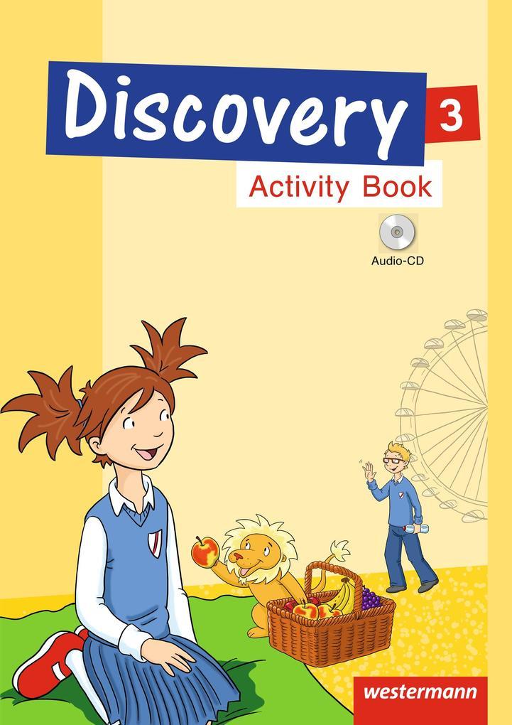 Discovery 1 - 4. Activity Book 3 mit CD als Buch (geheftet)