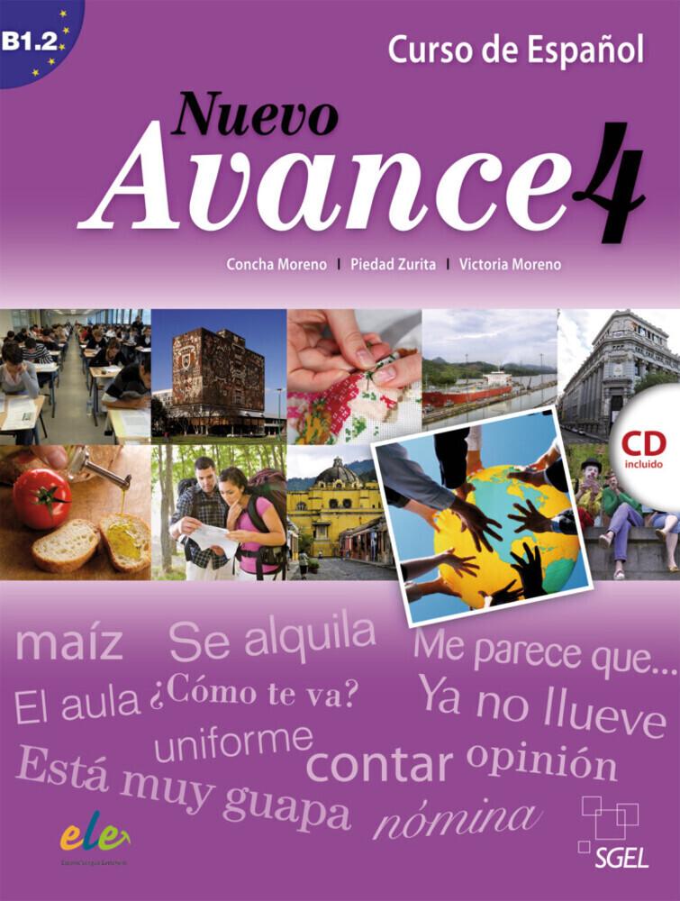 Nuevo Avance, Libro de alumno + Audio-CD. Nivel B1.2 als Buch