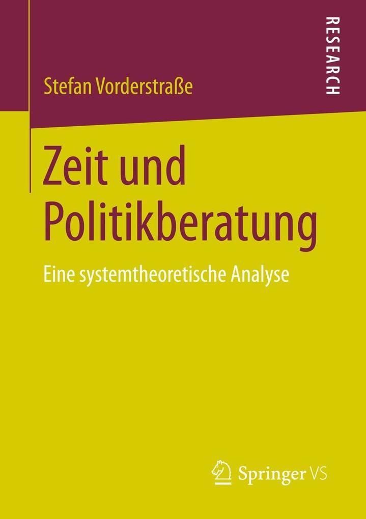 Zeit und Politikberatung als eBook pdf