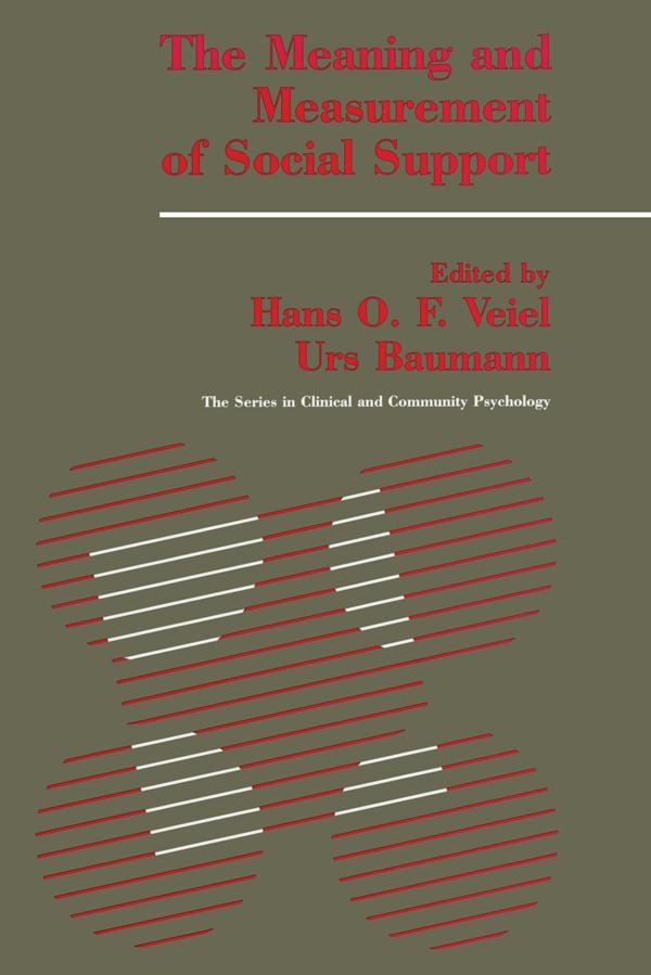 The Meaning And Measurement Of Support als eBook pdf