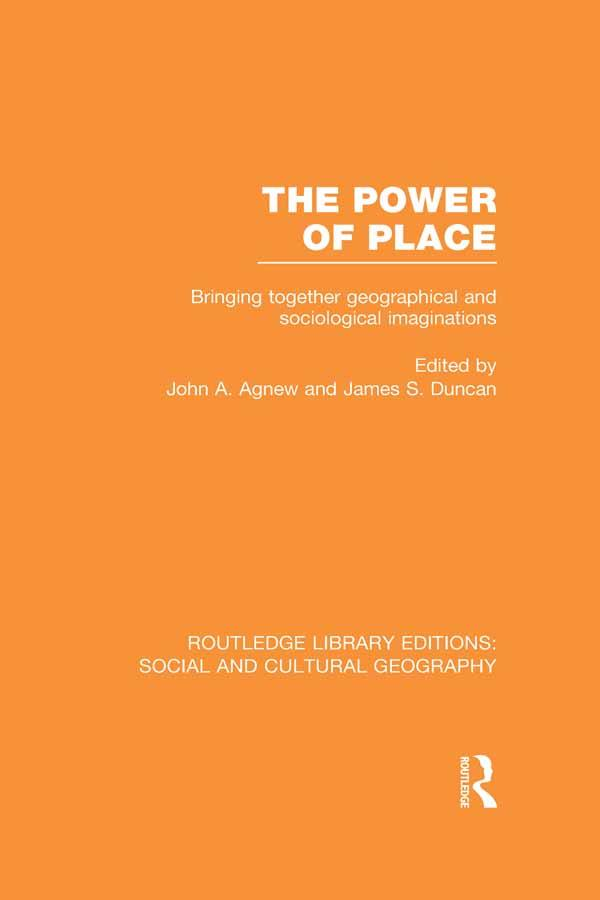 The Power of Place (RLE Social & Cultural Geography) als eBook epub