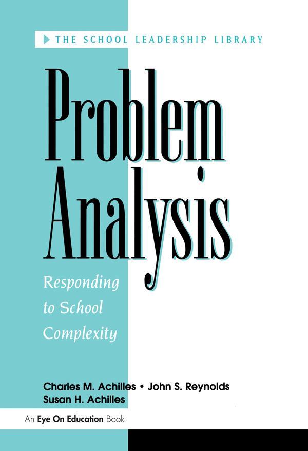 Problem Analysis als eBook epub