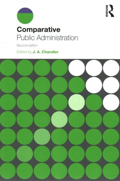 Comparative Public Administration als Taschenbuch