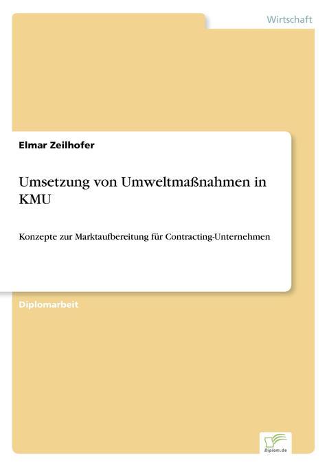Umsetzung von Umweltmaßnahmen in KMU als Buch (kartoniert)
