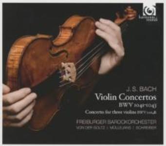 Violinkonzerte BWV 1041-1043 & 1064r als CD