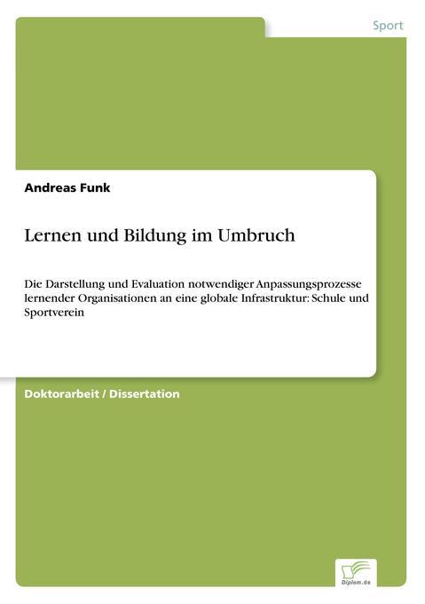 Lernen und Bildung im Umbruch als Buch (kartoniert)