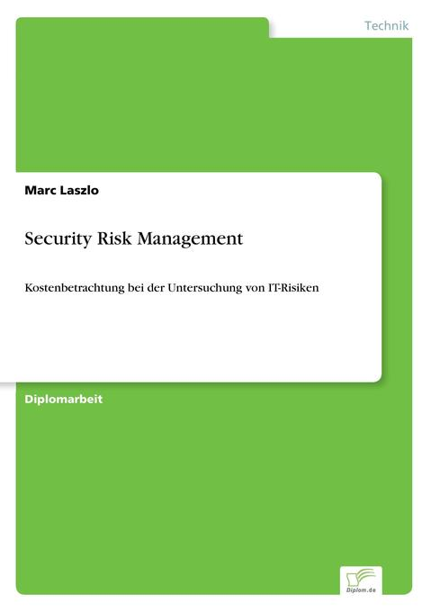 Security Risk Management als Buch (kartoniert)