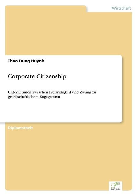 Corporate Citizenship als Buch (kartoniert)