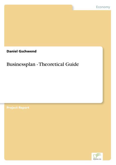 Businessplan - Theoretical Guide als Buch (kartoniert)