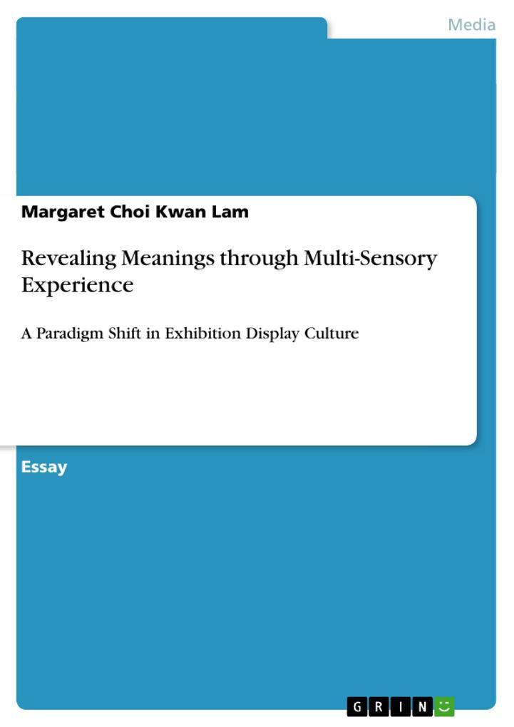 Revealing Meanings through Multi-Sensory Experience als Buch (kartoniert)
