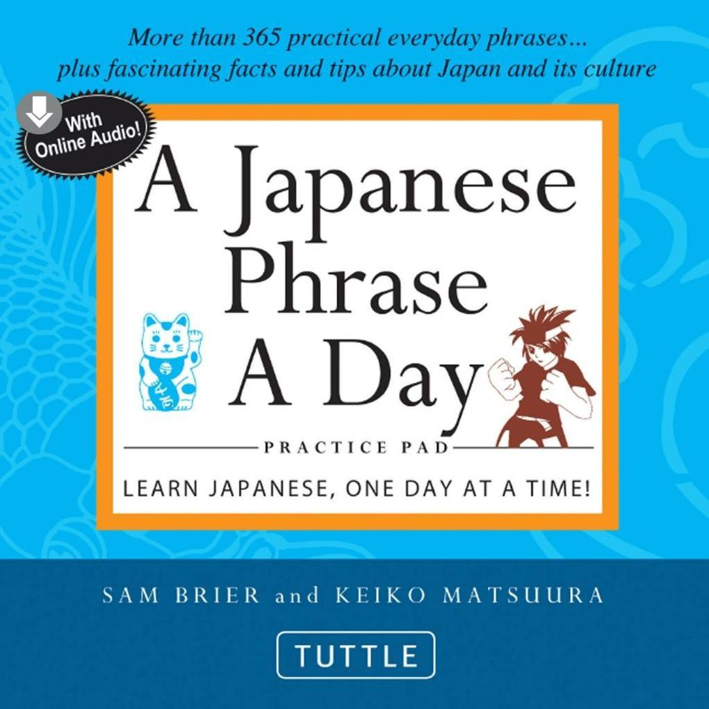 Japanese Phrase A Day Practice Pad als eBook epub