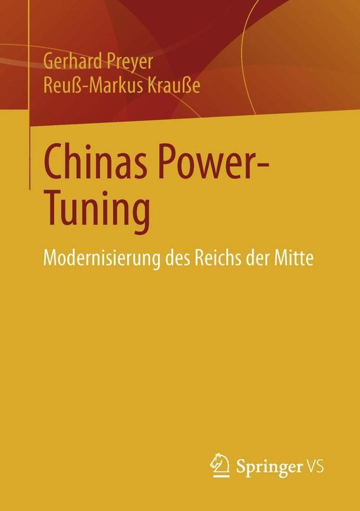 Chinas Power-Tuning als eBook pdf
