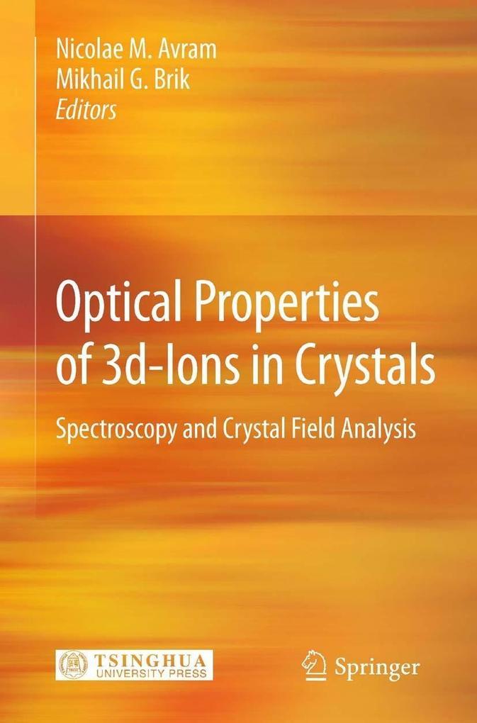 Optical Properties of 3d-Ions in Crystals als eBook pdf