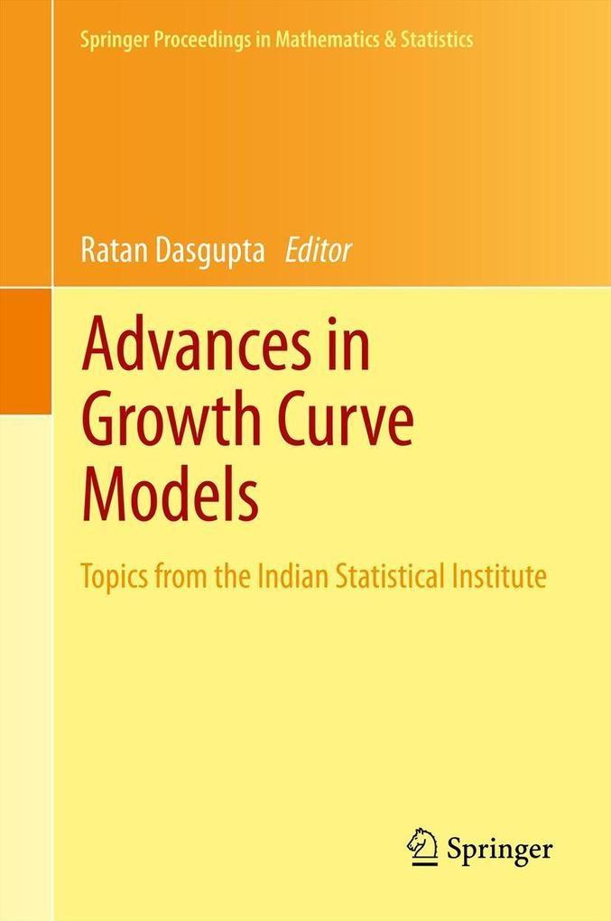 Advances in Growth Curve Models als eBook pdf