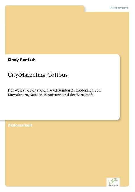 City-Marketing Cottbus als Buch (kartoniert)